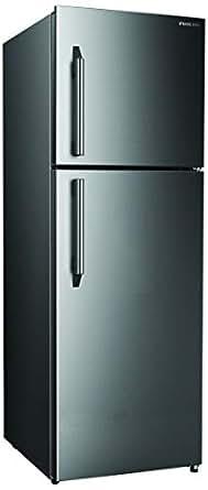 Nikai Double Door Frost Free Refrigerator, Silver -NRF400FN4SS