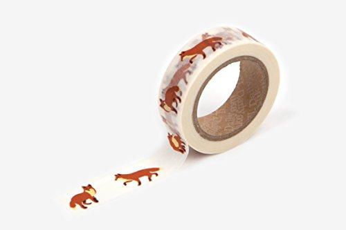 Fox Paper (Winter fox washi tape)