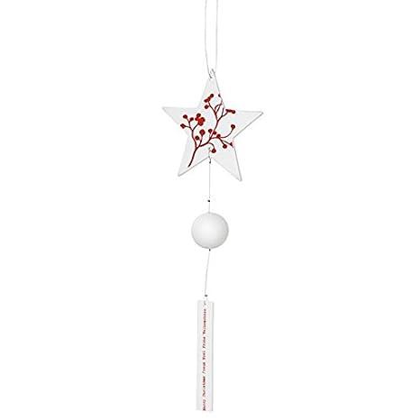 De colour rojo Perchero de pared con forma de estrella de ...