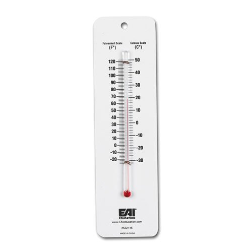 (EAI Education Dual Scale Student Thermometer - Set of 10)