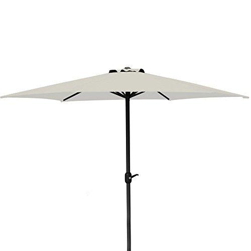 Alu - Sonnenschirm 300 cm beige