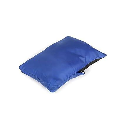Snugpak Snuggy reposacabezas Saphire azul ligero almohada para camping o viaje con bolsa
