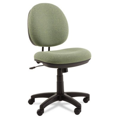 Alera Interval Swivel/Tilt Task Chair with Tone-On-Tone Pattern, Green