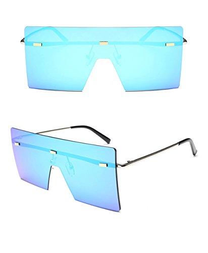 de la Gafas del de Espejo conducción personalidad señoras Gafas 6 amp;Gafas moda 1 las de de de de de sol amp; de caballero Color LYM protecciónn sol conductor B7PZqZ