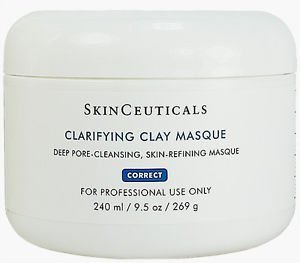 Skinceuticals Clarifying Clay Mask Masque 240ml(8oz) Fresh New Good Quality for Everyone Fast Shipping Ship ()