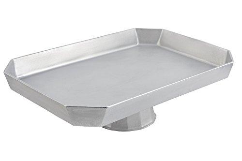 (Bon Chef 50959106PG Aluminum/Pewter Glo Pedestal Octagonal Casserole, 22