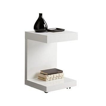 Sunpan Modern Bachelor Tv Table White