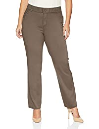 Lee Women's Plus Size Relaxed-Fit All Day Pant