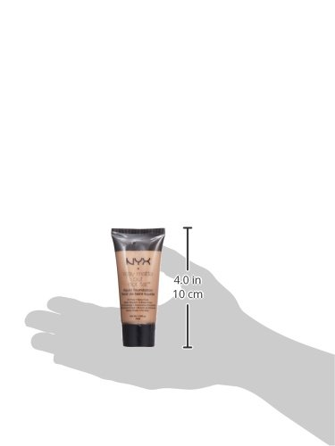NYX PROFESSIONAL MAKEUP Stay Matte but not Flat Liquid Foundation, Medium Beige, 1.18 Fluid Ounce
