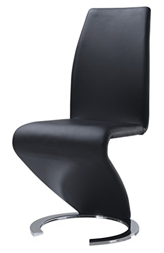 (Global Furniture Dining Chair, Black PU)