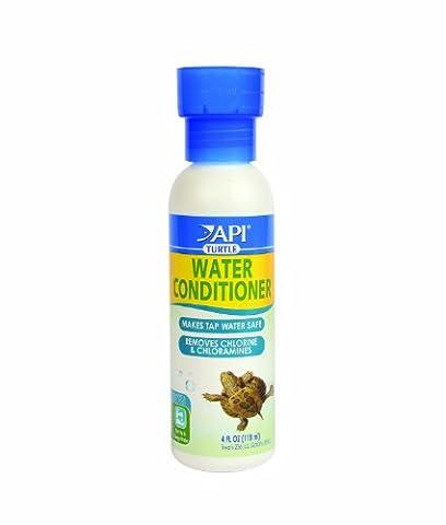 API Turtle Water Conditioner for Aquarium, 4-Ounce - Api Tap Water Conditioner