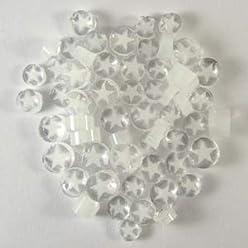Cape Jasmine Murrine 6103-96 Millefiori COE 96 Glacial Art Glass
