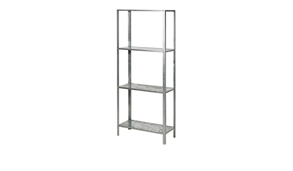 Ikea HYLLIS - Estanterías Unidad, galvanizado - 60x27x140 cm ...