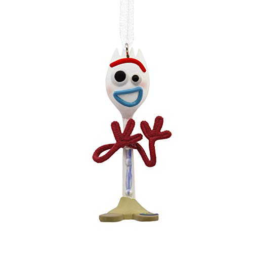 Hallmark Christmas Ornaments, Disney/Pixar Toy Story 4 Forky Ornament Dog Christmas Holiday Ornament