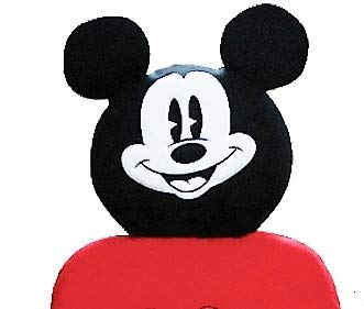 Mickey Car Seat Cover with Headrest Cover