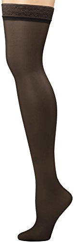Hanes Women's Silk Reflections Thigh-High Stockings