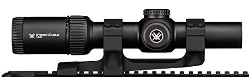 Vortex Optics Strike Eagle 1-8x24 Second Focal Plane Riflescope - BDC2 Reticle (MOA) with Sport Cantilever 30mm Mount - 2-Inch Offset