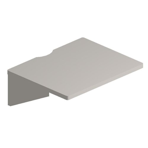 Maxon Parallel Rectangular Worksurface - Rectangle - 24