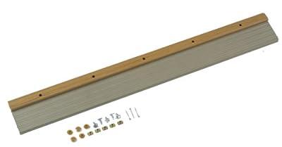 M-D Building Products 49008 Prem. Adjust/Thermal Break Threshold, 36 Inches, Satin Nickel