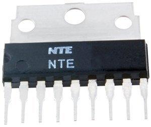 Nte Electronics Part (NTE Electronics NTE7055 2-CH Stereo 2W Class-AB 14-Pin DIP Audio Amp Speaker)