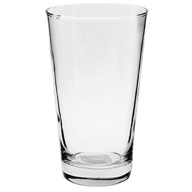 Anchor Hocking Refresher Pint Beer Glasses, 16 oz (Set of 6)