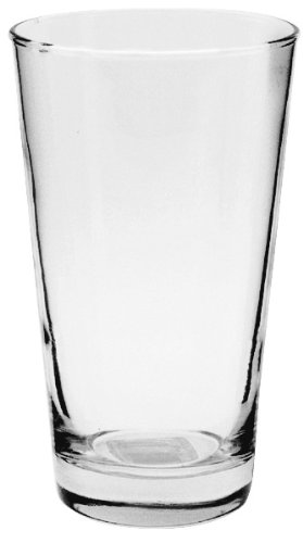 Anchor 16 Ounce Tumbler - Anchor Hocking Refresher Pint Beer Glasses, 16 oz (Set of 6)