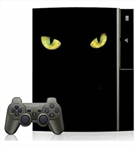 Black Cat Skin for Sony Playstation 3 Console