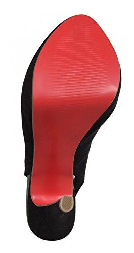 Zapatos de tacón de Mujer MTNG 58377 GIJON NEGRO