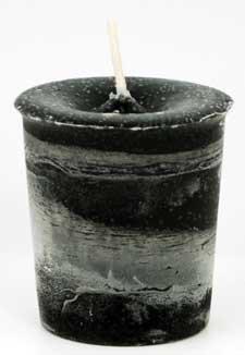 贈り物 AzureGreen CVHPRT Herbal B00530C4ME Protection Black Herbal Votive Candle in Black B00530C4ME, BCブランドコレクション 仙台:5e37f98f --- beautycity.in