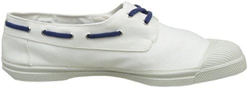 Bensimon Tennis Bateau Bicolor - Botas Hombre Blanc (Blanc)