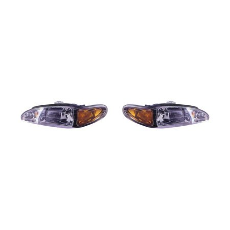 - Fits Ford Escort 1997-2002/MC Tracker 1997-1999 Headlight Assembly Pair Driver and Passenger Side