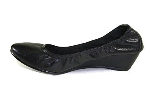 Zapatillas De Cuña Alfani Margot Tali Grand Round Con Punta Cerrada Para Mujer, Negro 6 M