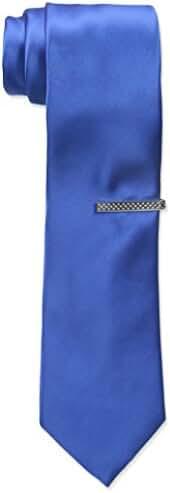 Nick Graham Men's Solid Satin Tie