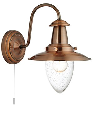 53311co copper 1 light pull cord switched fisherman wall light energy class a