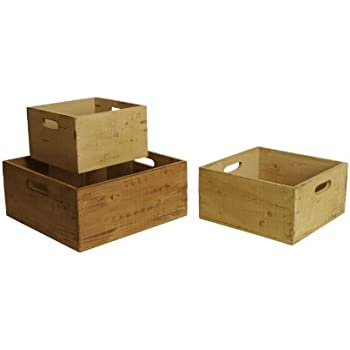 Amazon.com: IKEA DRAGAN bambú Cajas W/Tapas – 2 PC Set: Home ...