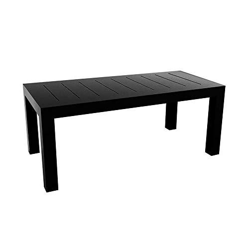 Vondom Jut mesa de exterior 180x90 cm negro: Amazon.es: Jardín
