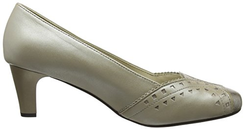Padders Damen Janet Pumps Beige (Stone Purple)