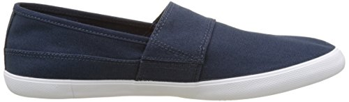 Lacoste Blue Marice Men's Dark Canvas Loafer YqrYC