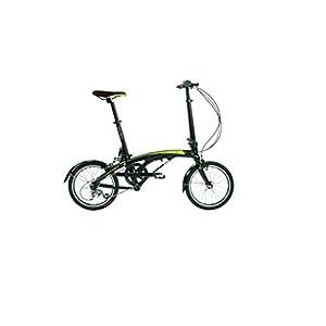 "Dahon EEZZ D3 Folding Bike Sable 16"" Wheel"