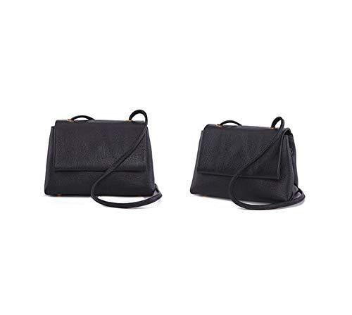 Side Hongge Female Leather Fashion Retro Bag Oblique Single Small Baotou Lady Shoulder C aqPxaHr