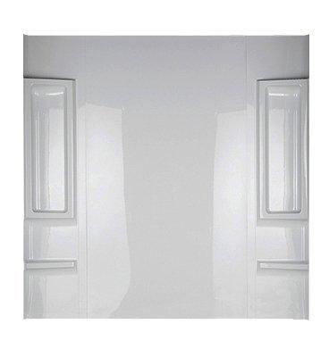 Delta 39984 Bathtub Wall Set, High Gloss White, 5-Piece