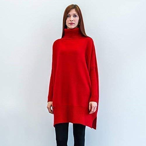 Sweater Alpaca Turtleneck - Women Knitted Turtleneck Sweater Oversized Long Sleeve Pullover