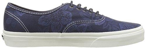 Bestelwagens Herren Ua Authentieke Sneakers Blau (bloemen Jacquard Parijse Nacht / Blanc De Blanc)
