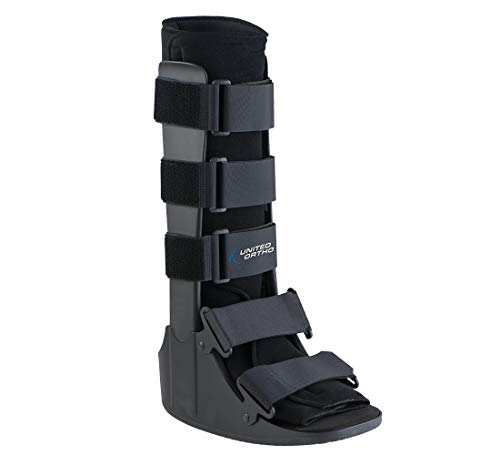 United Ortho Cam Walker Fracture Boot, Medium, Black
