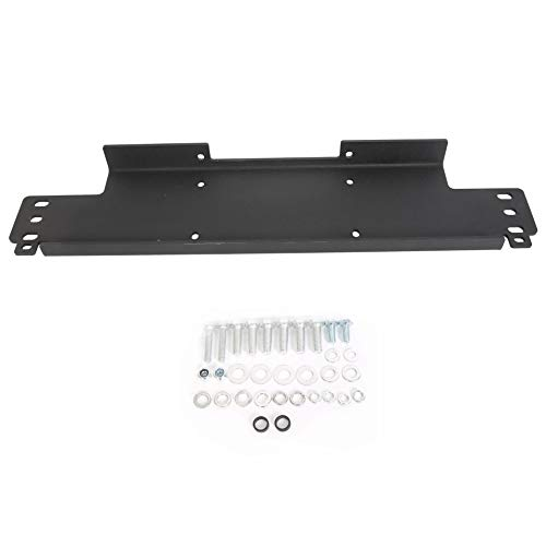 Winch Mounting Plate for Jeep Wrangler YJ TJ LJ- 12000 lb Capacity