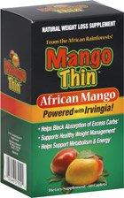 Mango ThinTM africaine Mango 60 Cap par des produits de santé Windmill (1 chacun)