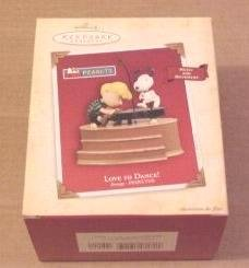 (Love to Dance Peanuts Snoopy Magic 2004 Hallmark Ornament)