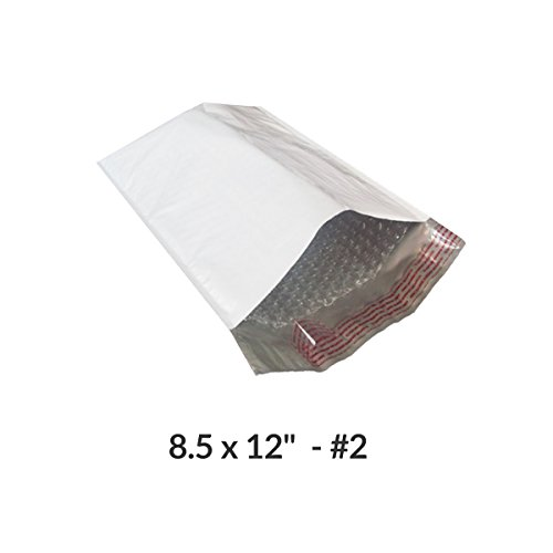Poly Bubble Mailer 8.25''X12'' #2- Pack of 100 by StarBoxes