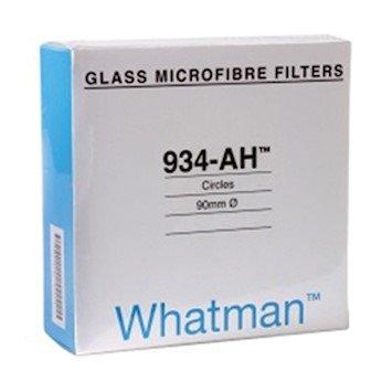 Whatman 1827-090 934-AH Glass Microfiber Filters, 9.0 cm dia, 100/Box - Whatman Glass Filter