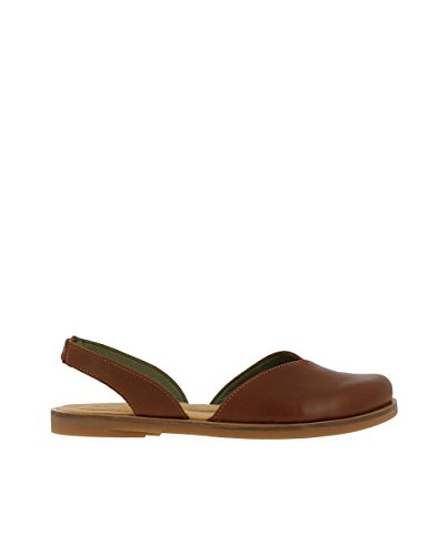 Wood Woman NF38 Leather 39 Tulip IBON Sandals Elastic Zpww7